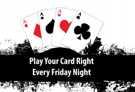 Play Your Cards Right at St Crispin Social Club